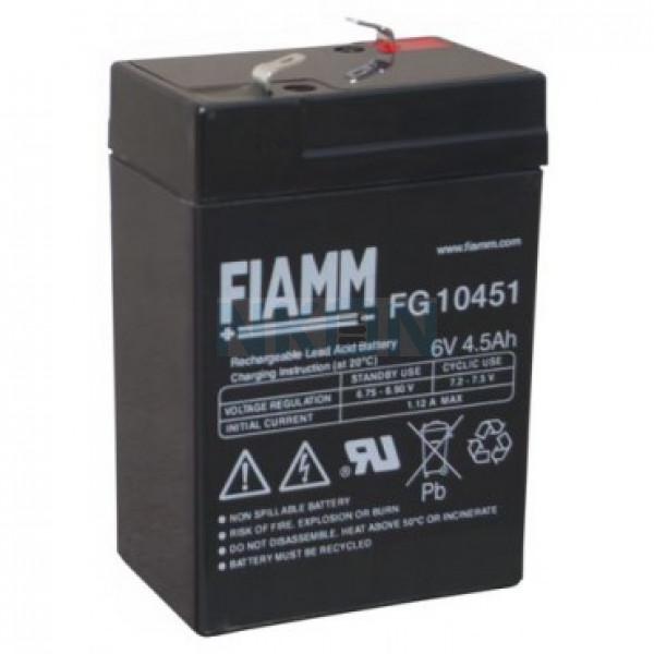 Fiamm FG 6V 4.5Ah Batería de plomo