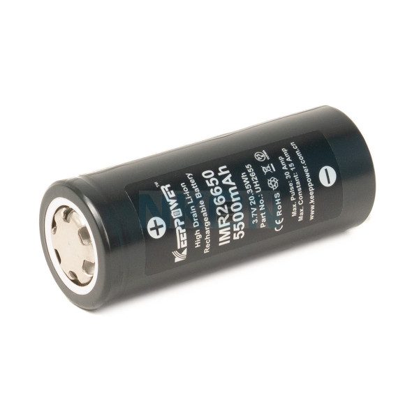 Keeppower IMR26650 5500mAh - 15A