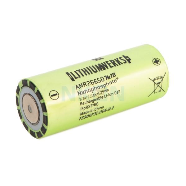 Lithium Werks (former A123 systems) ANR26650M1-B 2500mAh - 50A LifePo4