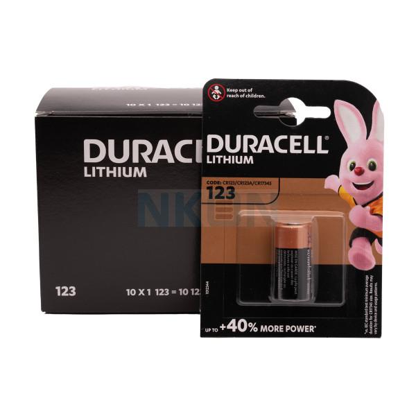 Duracell CR123A  Litio - blister