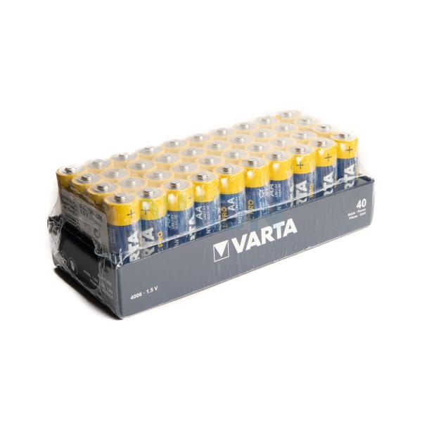 40x AA Varta Industrial Pro - 1.5V