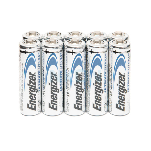 10x AA Energizer Ultimate Lithium L91 - 1.5V