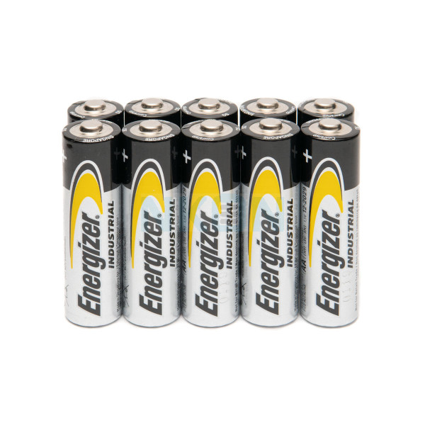 10x AA Energizer industrial - 1.5V