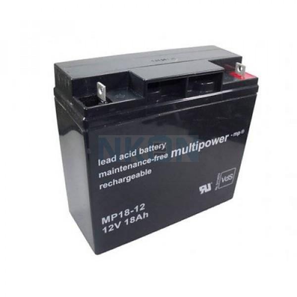 Multipower 12V 18Ah Batería de plomo
