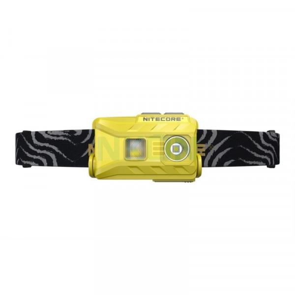 Nitecore NU25 - Linterna frontal - USB recargable - Amarillo