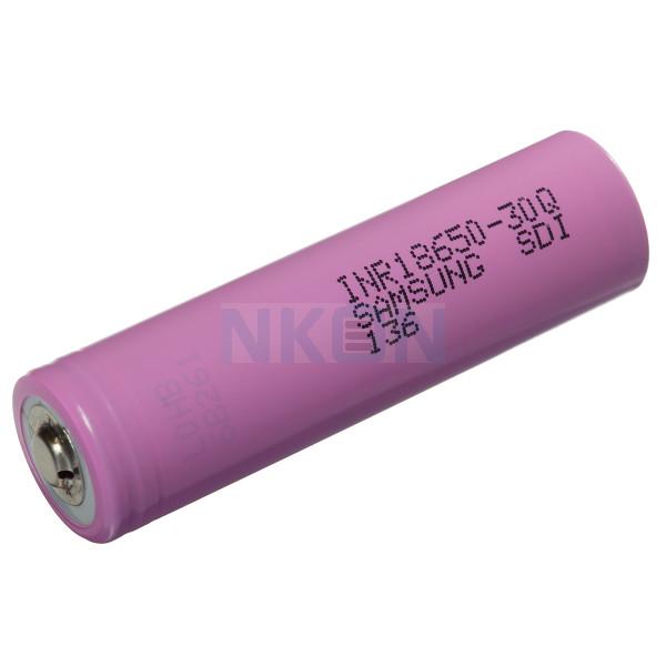 Samsung INR18650-30Q 3000mAh -  15A botón superior