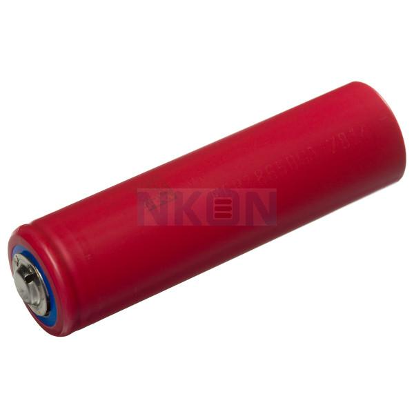 Sanyo NCR18650GA 3350mAh - 10A botón superior