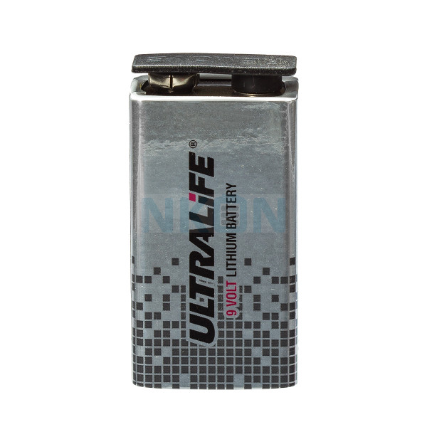 9V Ultralife lithium