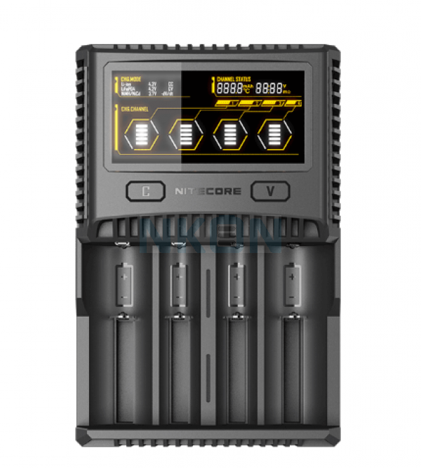 Nitecore SC4 cargador de bateria