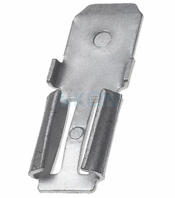 Adaptador de abrazadera 2x para la batería de plomo - 4.74mm x 6.35mm