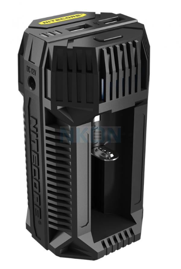Cargador de batería Nitecore V2 In-Car Speedy