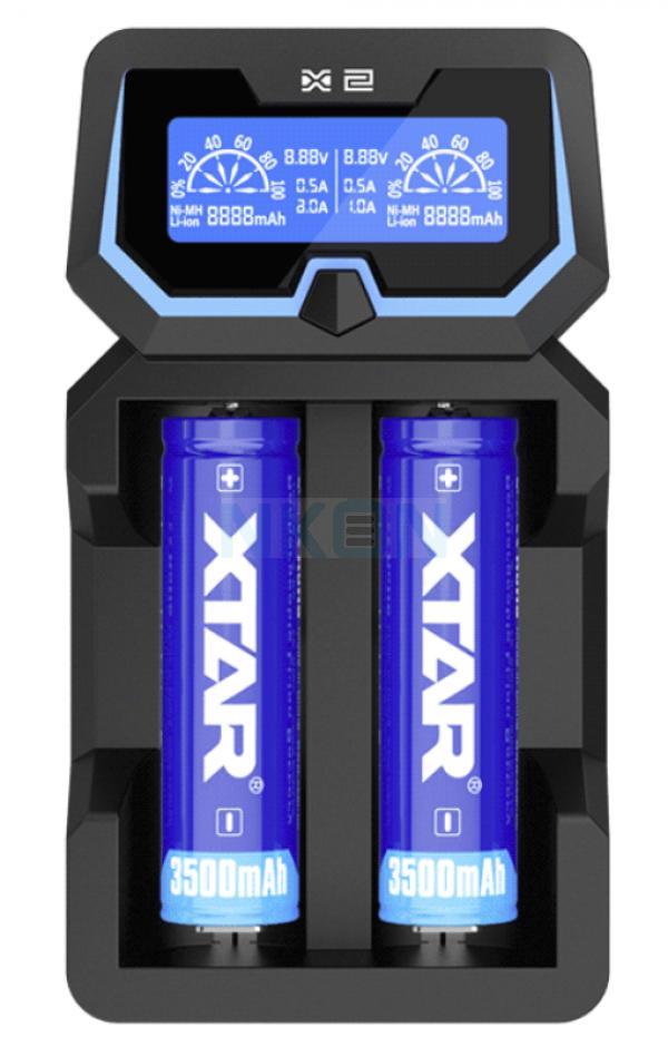 Cargador de batería XTAR X2