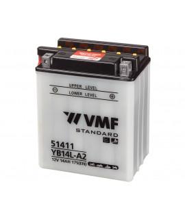 VMF Powersport 12V 14Ah Batería de ácido sólido
