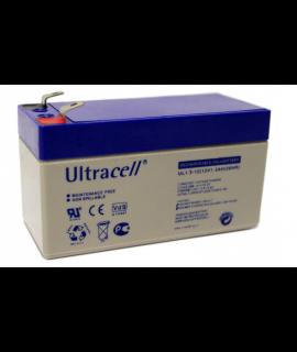 Ultracell 12V 1.3Ah Batería de plomo