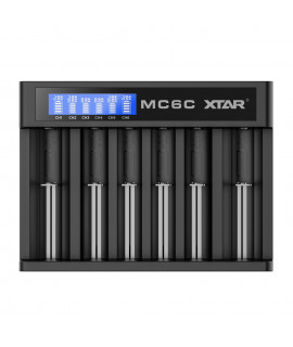 XTAR MC6C cargador de bateria