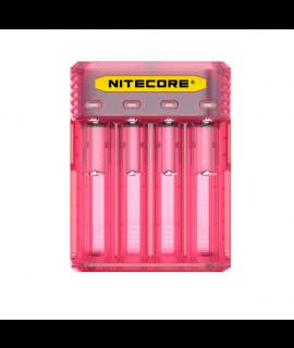 Nitecore Q4 cargador de bateria  - Pinky Peach