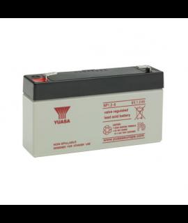 Yuasa 6V 1.2Ah Batería de plomo