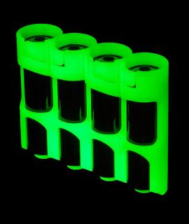 4 AA Powerpax stuche de batería - resplandor en la oscuridad