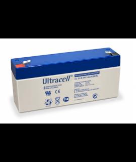 Ultracell 6V 3.4Ah Batería de plomo