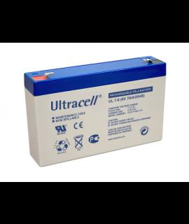 Ultracell 6V 7Ah Batería de plomo