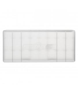 Caja de batería Powerex para 8 pilas AA / AAA