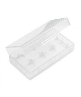 2x 18650 of 4x 18350 caja de bateria BLANCO