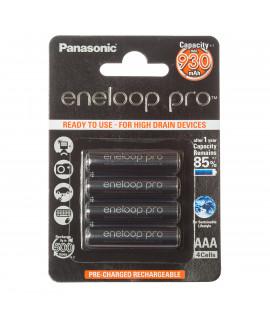 4 AAA Eneloop Pro - blister - 930mAh