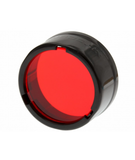 Filtro Nitecore - Difusor 25.4 mm - Rojo