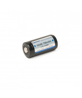 Keeppower 16340 700mAh (protected) - 4A