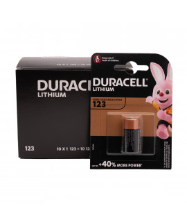 Duracell CR123A  Litio - blister