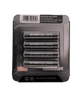 4 AAA Eneloop Pro - blister deslizante - 930mAh