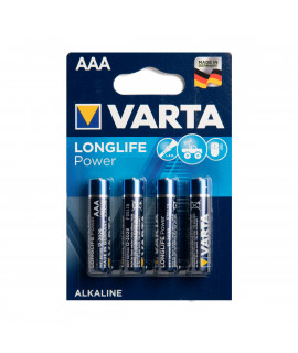 4 AAA Varta Longlife Power - 1.5V