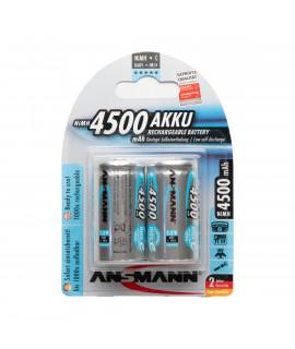 2 C Ansmann maxE - 4500mAh