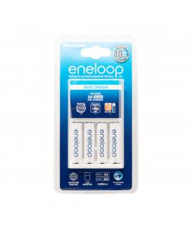 Cargador de Batería Panasonic Eneloop BQ-CC51 + 4 Eneloop AA (1900mAh)