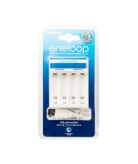 Cargador de Bateria Panasonic Eneloop BQ-CC61 USB