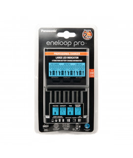 Cargador Panasonic Eneloop BQ-CC65 PRO