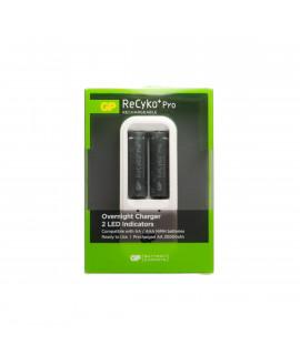 GP Recyko Powerbank PB410 cargador de batería + 2 AA GP Recyko Pro (2100mAh)