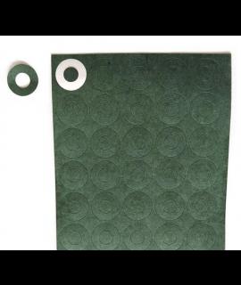 1x 20700/21700 papel aislante verde