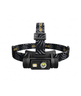Nitecore HC65 - Linterna frontal - USB recargable