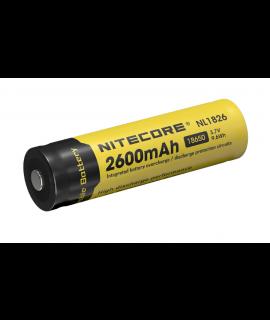 Nitecore 18650 NL1826 2600mAh (protegido) - 4A