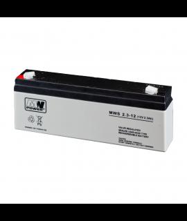 MWPower 12V 2.3Ah Batería de plomo