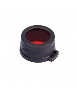 Nitecore NFR40 rojo Filtro