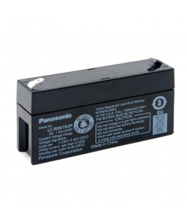 Panasonic 6V 1.3Ah Batería de plomo