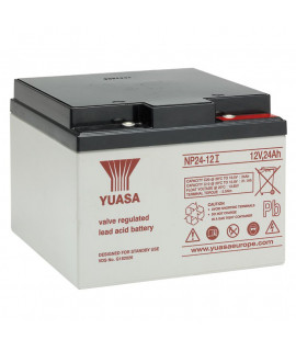 Yuasa 12V 24Ah batería de plomo