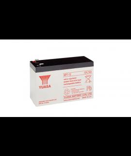 Yuasa 12v 7Ah Batería de plomo