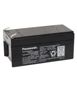 Panasonic 12V 3.4Ah Batería de plomo