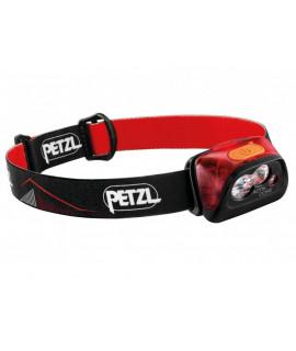 Lámpara de cabeza roja Petzl Actik Core - 450 lúmenes