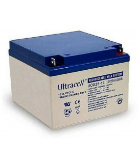 Ultracell Deep Cycle Gel 12V 26Ah Batería de plomo