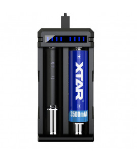XTAR SC2 cargador de bateria