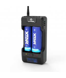 XTAR VP2 cargador de batería